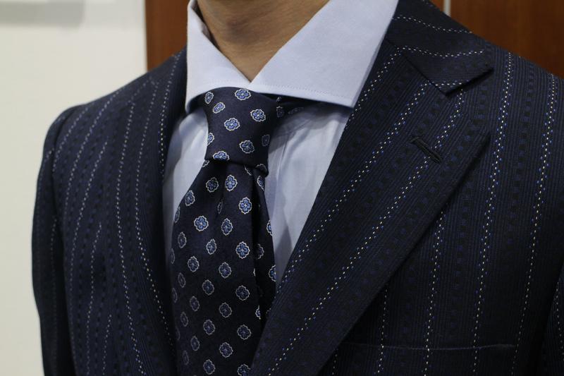 M様 持ち込み生地スーツ