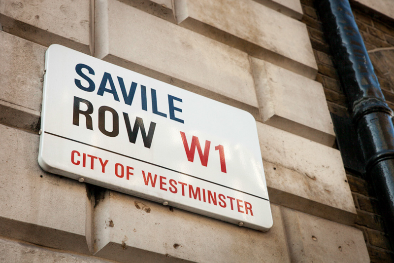 Savile Row サヴィルロウ 仕立て屋街