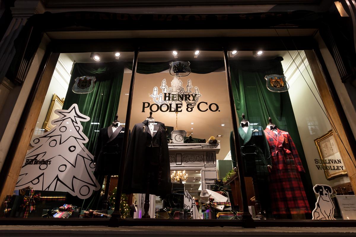 ヘンリープール,Henry Poole Bespoke tailor