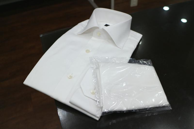 シャツとハギレ