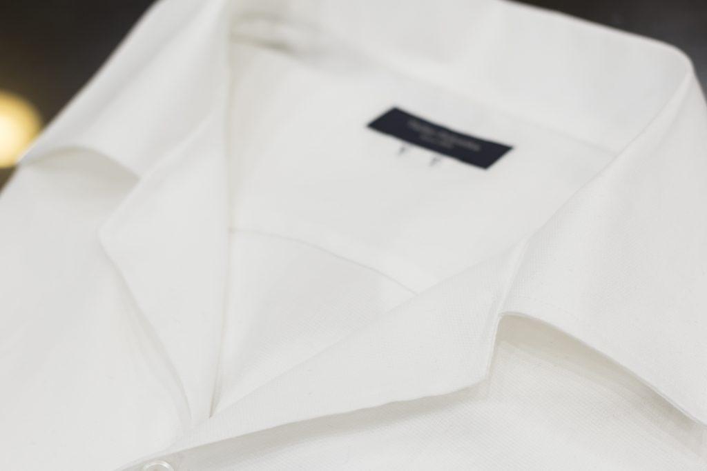 オープンカラー キューバシャツIMG_9692