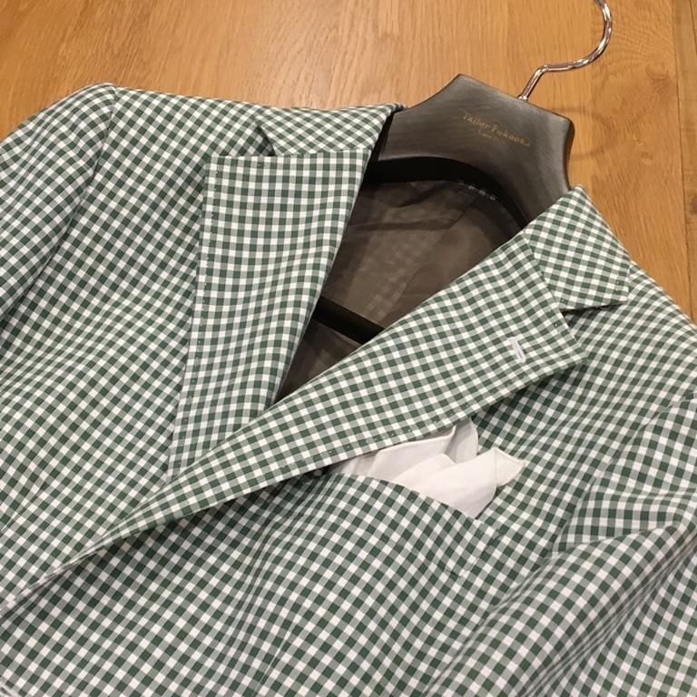 カノニコ シアサッカージャケット