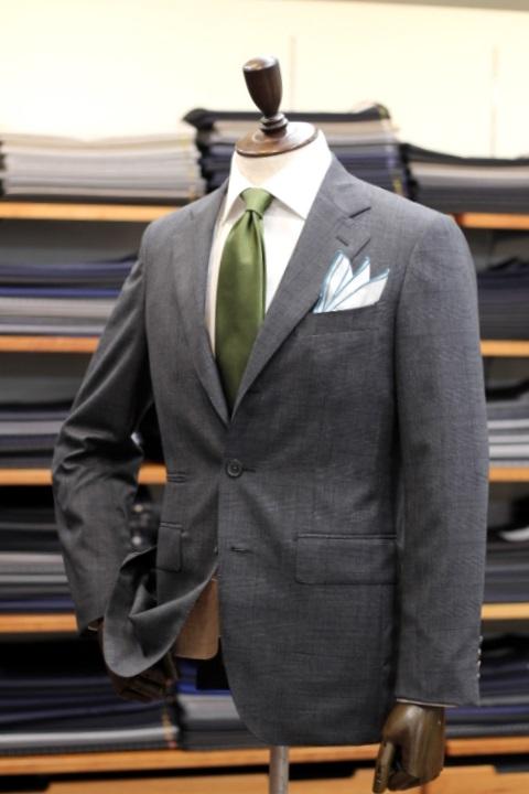 Sample Suit グレンチェック サンプル