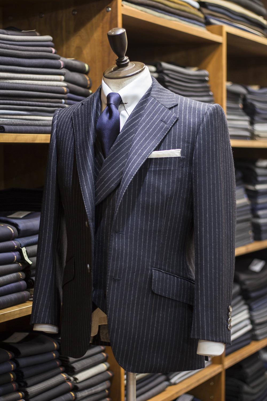 Tailor Fukuoka C model チャールズ ブリティッシュスタイル