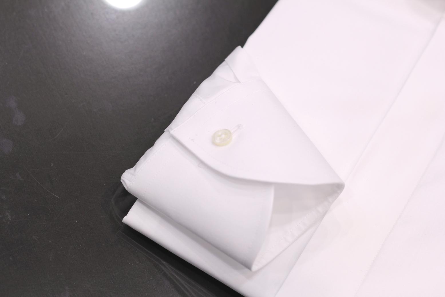 テーラーフクオカ カルロリーバ  CarloRiva オーダーシャツ shirt shirting テーパードカフ