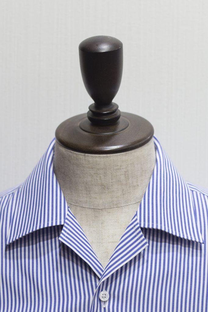 オープンカラーシャツ 衿型 開襟シャツ