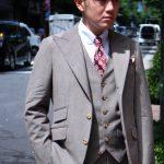 S君のスーツと流行
