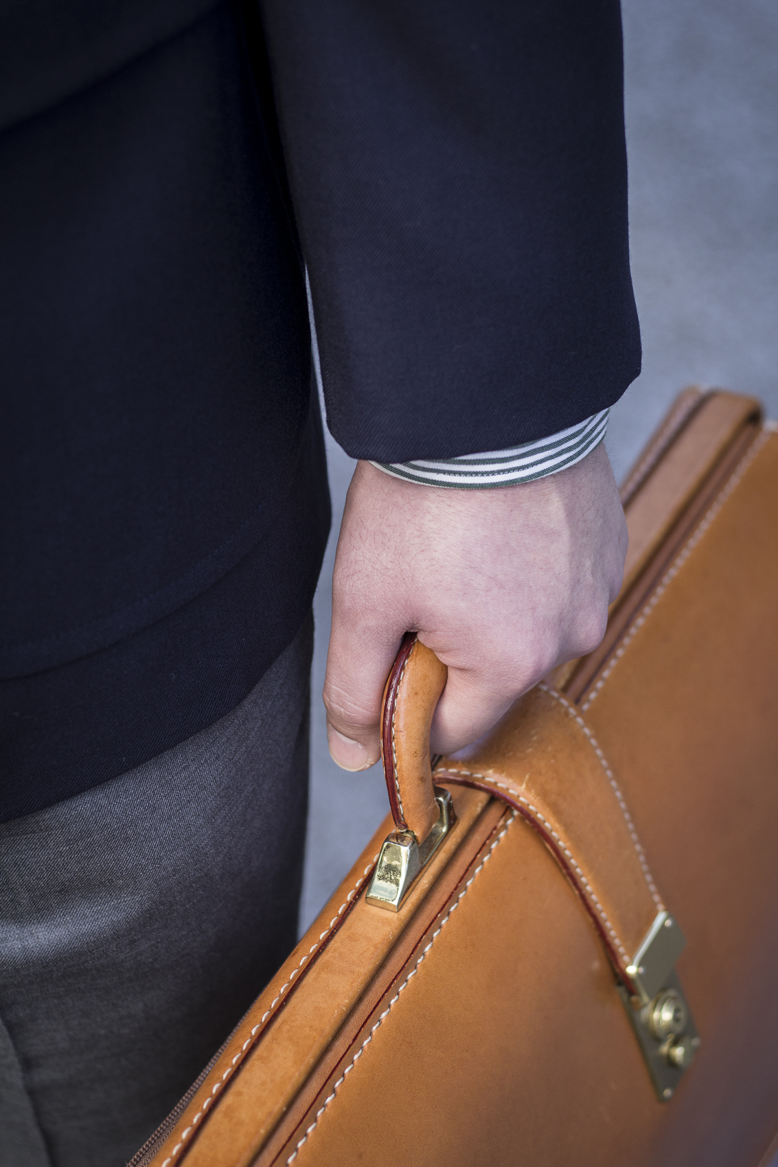 トラッドアイテム  ダレスバッグ