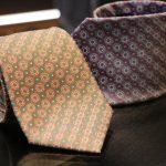 クセの強いネクタイを選ぶ