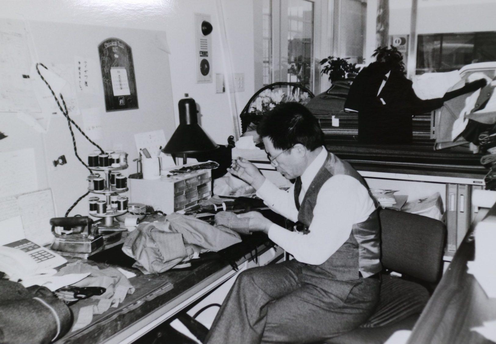 フルオーダー 縫製風景