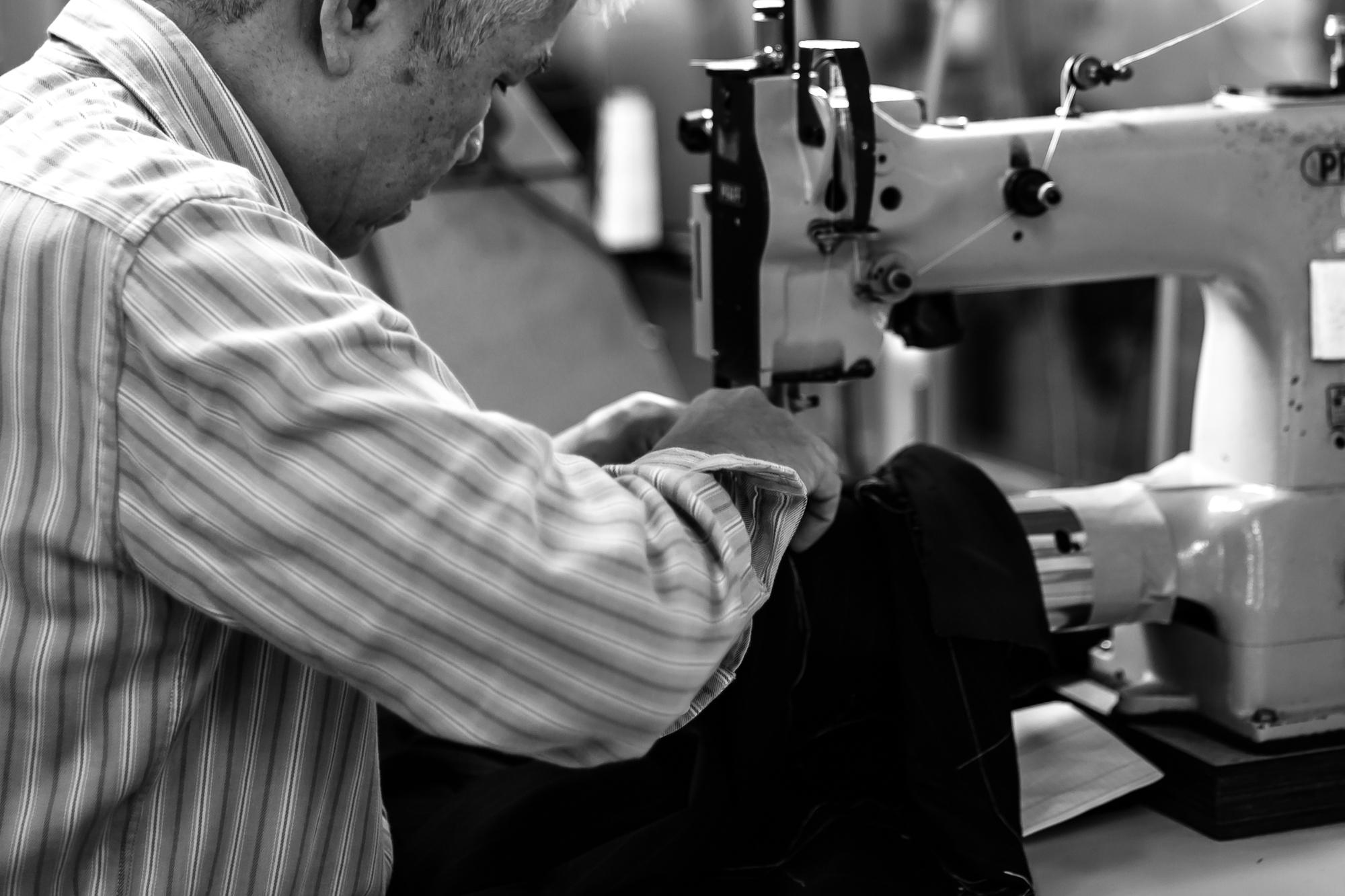 縫製工場 イージーオーダーファクトリー イメージ