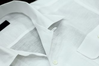ツインポケットシャツ 両ポケット オーダーシャツ テーラーフクオカ-2