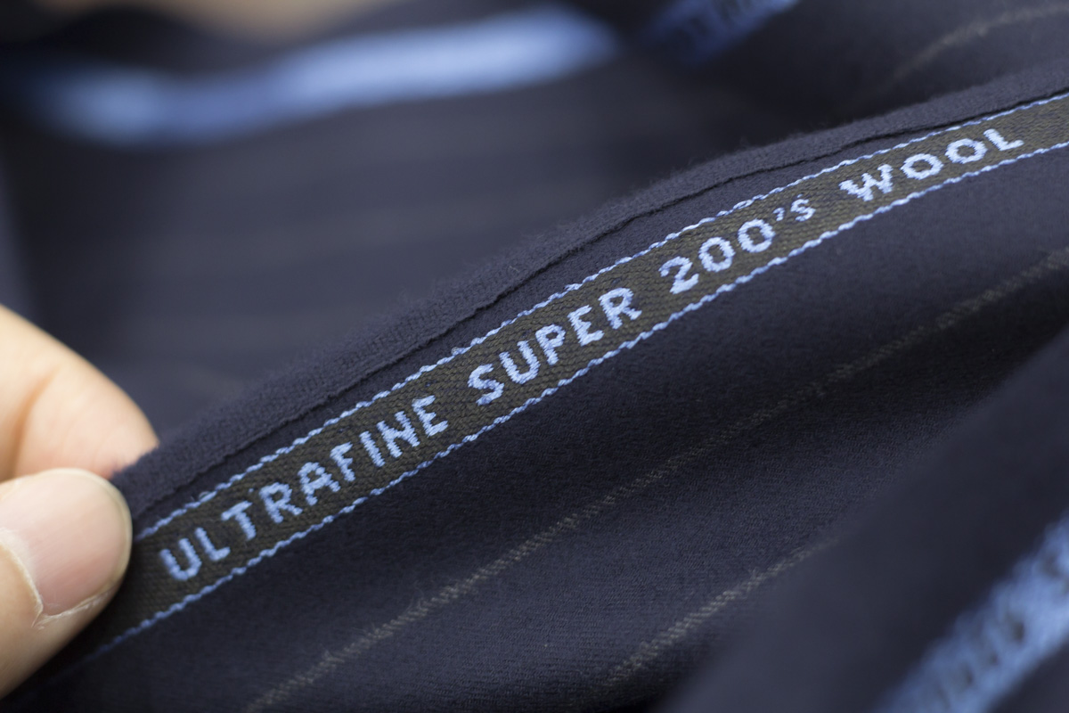 John Foster Made in Huddersfield England Super 200's Milled Finish オーダースーツ生地 テーラーフクオカ-2