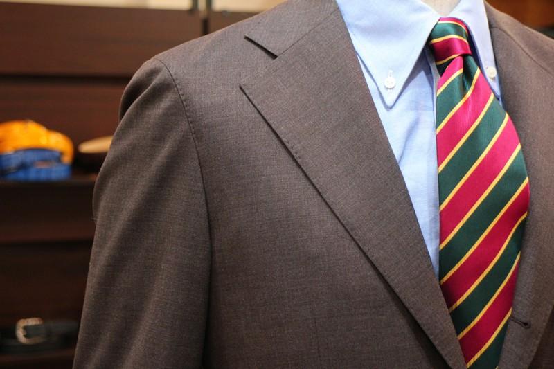 ブラウン,トラッド,レジメンタル,スーツ