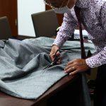 ジャケット生地でカーテンを作った話。