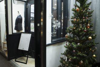 テーラーフクオカ新宿店 クリスマスツリー Xmas Christmas -1