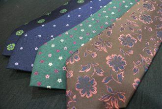 ネクタイ 花柄 2