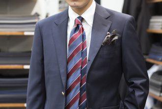 長井の夢 息子のオーダースーツ オーダーブレザー オーダースラックス ジャケパン 親子でオーダースーツ