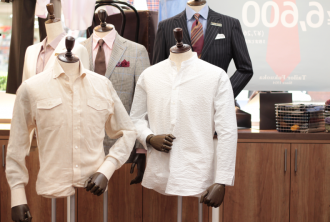 スーツ,ジャケット,オーダー,お店,トルソー,マネキン,銀座店,スタイリング,コーデ,着こなし
